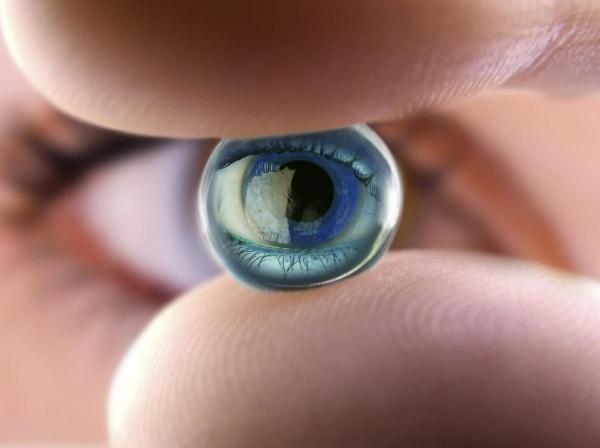 контактные линзы 3